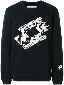 Damir Doma x Lotto printed sweatshirt