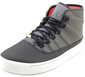 Jordan Westbrook 0 Holiday Men Round Toe Leather Black Sneakers.