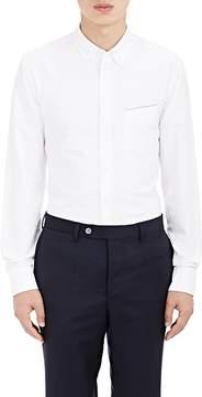 Officine Generale Men's Selvedge-Detailed Cotton Oxford Shirt