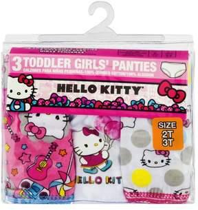 Hello Kitty Toddler Girls Underwear, 3 Pack