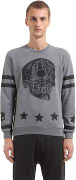 Hydrogen Printed Cotton Sweatshirt