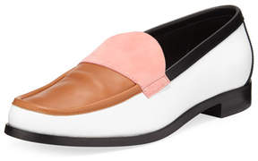Pierre Hardy Hardy Colorblock Leather Loafer