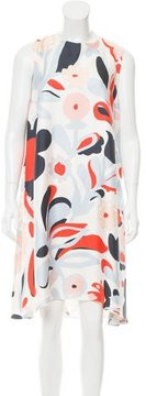 Mulberry Printed Silk Dress