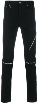 Marc Jacobs zipped jeans