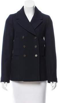 Barneys New York Barney's New York Wool Double-Breasted Coat w/ Tags