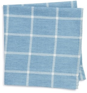 Nordstrom Men's Sergi Check Cotton Pocket Square