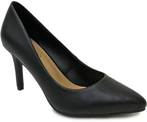 Bamboo Black Fiction Pump