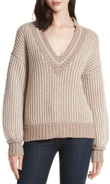 Brochu Walker Women's Jessen Stripe Wool & Cashmere Sweater