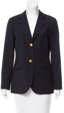Brooks Brothers Wool Notch-Lapel Blazer