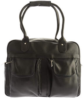 Piel Women's Leather Multi-Pocket Satchel 3016
