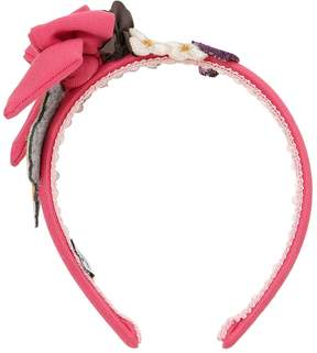MonnaLisa Bashful & Floral Headband