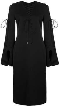 Ellery tie-detail shift dress