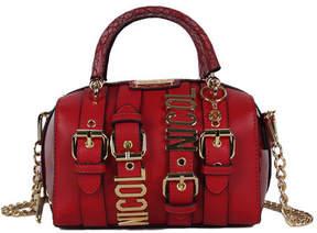 Nicole Lee Women's Hilliard Belt Embellish Mini Handbag