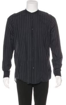 Dries Van Noten Striped Woven Shirt