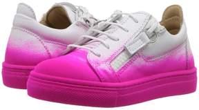 Giuseppe Zanotti Kids Smuggy Sneaker Girl's Shoes