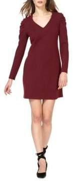 Donna Morgan Knit V-Neck Shift Dress