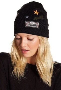 David & Young Military Patch Beanie