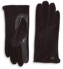Calvin Klein Suede Gloves