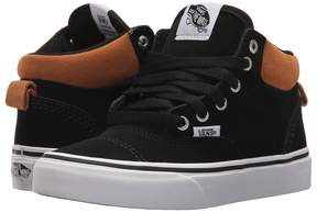 Vans Kids Era Hi Black/Cathay Spice) Boy's Shoes