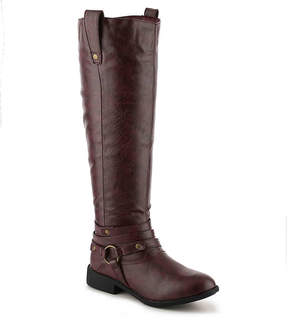 Journee Collection Women's Walla Wide Calf Riding Boot