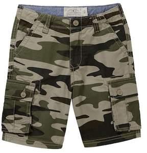 Lucky Brand Camo Cargo Shorts (Little Boys)