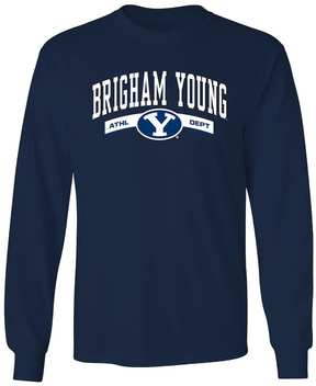 NCAA Men's BYU Cougars Banner Tee