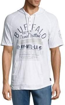 Buffalo David Bitton Nadano Graphic Hooded Pullover