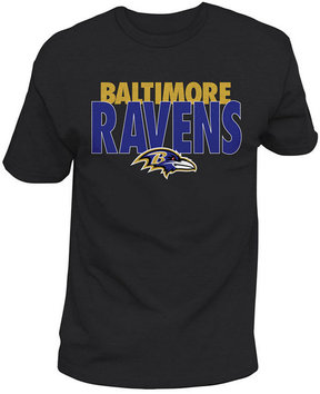Authentic Nfl Apparel Men's Baltimore Ravens Stunt Blitz T-Shirt
