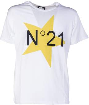 N°21 N.21 N.21 Star Logo T-shirt
