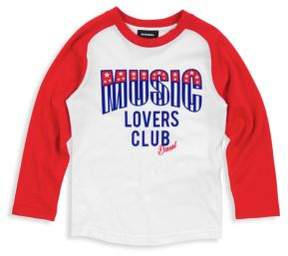 Diesel Little Boy's Music Lovers Club Cotton Tee
