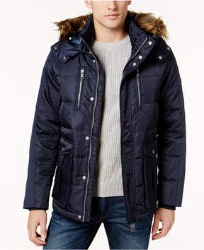 Armani Exchange Men's Satin Puffer Coat