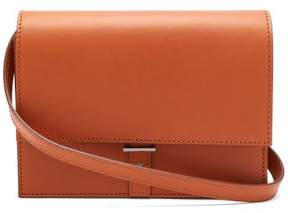 Pb 0110 Ab10 Mini Leather Cross Body Bag - Womens - Tan