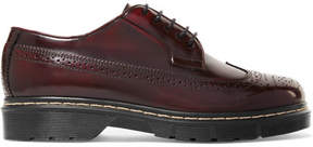 Joseph Leather Brogues - Burgundy