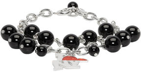 Raf Simons Silver Balls NY Hanger Bracelet