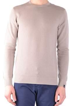 Paolo Pecora Men's Beige Wool Sweater.