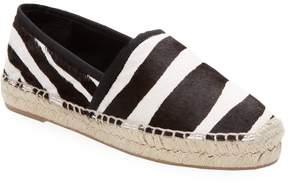 Marc Jacobs Women's Zebra Espadrille Flat