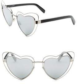 Saint Laurent Loulou Heart Shaped Glasses