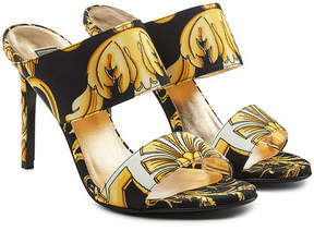 Versace Printed Fabric Sandals