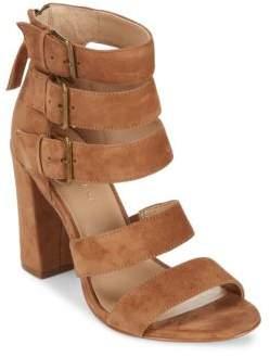 Saks Fifth Avenue Presley Leather Open Toe Sandals