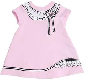 Simonetta Printed Cotton Sweatshirt Dress