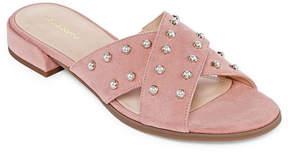 Liz Claiborne Faye Womens Slide Sandals