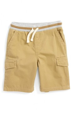 Tucker + Tate Toddler Boy's Ribbed Waist Utility Shorts