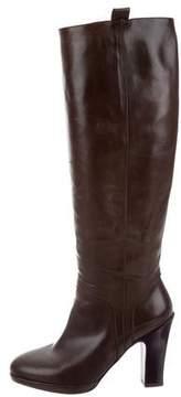 Dries Van Noten Knee-High Leather Boots