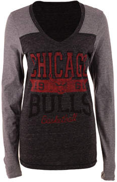5th & Ocean Women's Chicago Bulls Dunk Long-Sleeve T-Shirt