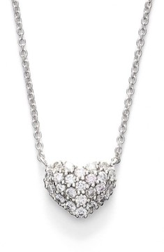 Bony Levy Women's Diamond Pave Heart Pendant Necklace (Limited Edition) (Nordstrom Exclusive)
