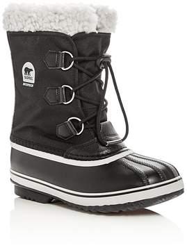 Sorel Boys' Yoot Pac Nylon Cold Weather Boots - Little Kid, Big Kid