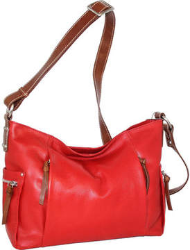 Nino Bossi Patrice Leather Crossbody Bag (Women's)