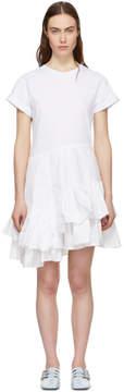3.1 Phillip Lim White Flamenco T-Shirt Dress