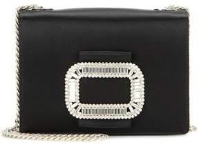 Roger Vivier Pilgrim Micro embellished shoulder bag