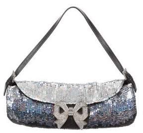 Valentino Sequin Bow Evening Bag
